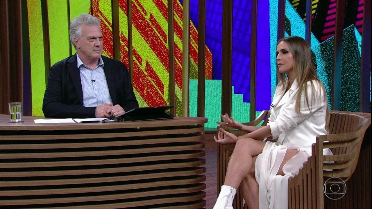 Deborah Secco fala sobre parceria com Adriana Esteves