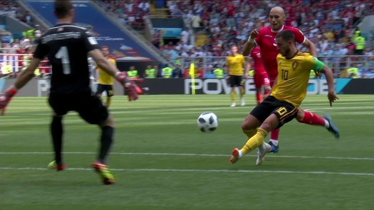 Melhores momentos: Bélgica 5 x 2 Tunísia pela Copa do Mundo 2018