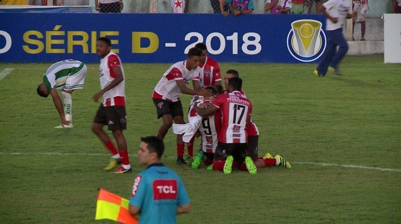 Altos sai atrás, busca empate, mas sofre derrota por 4 a 2 para o Ferroviário na Série D