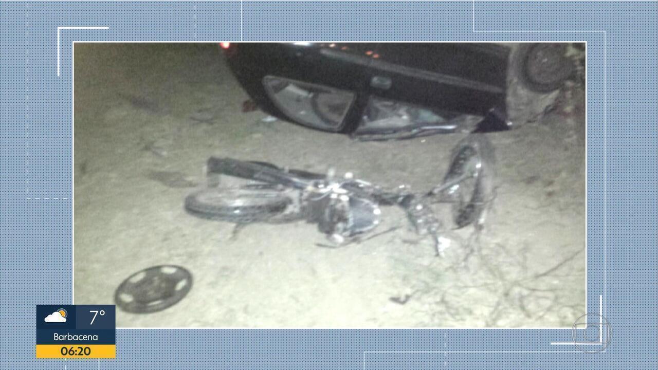 Motorista com suspeita de embriaguez é preso após acidente na MG-424, na Grande BH