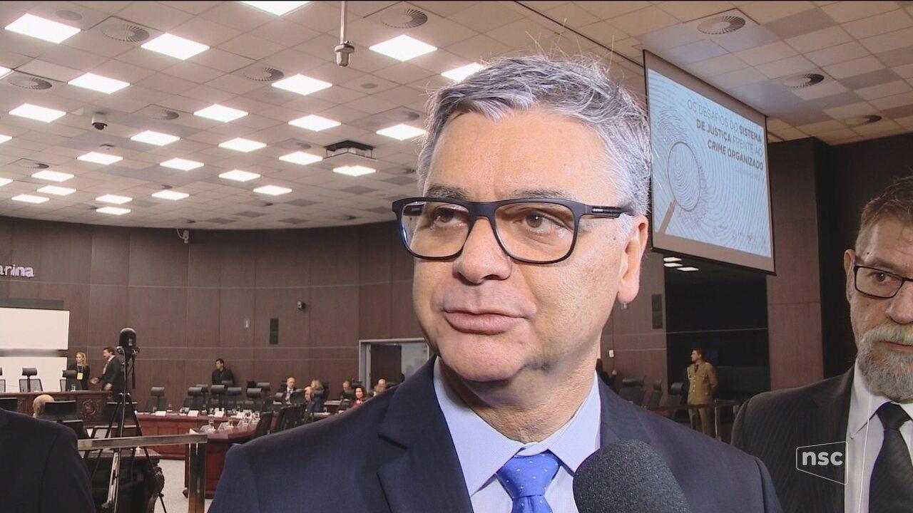 TJSC anuncia criação de vara especializada para combater crime organizado