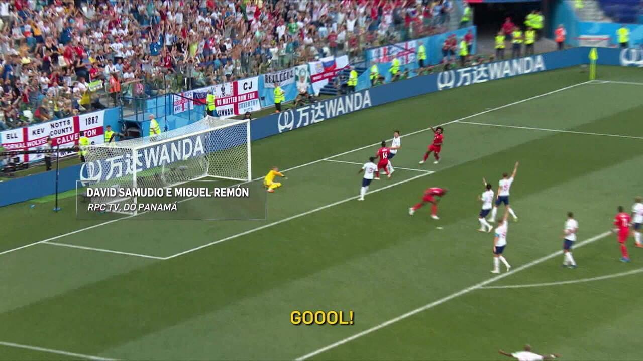 Narrador se emociona com primeiro gol do Panamá na história das Copas