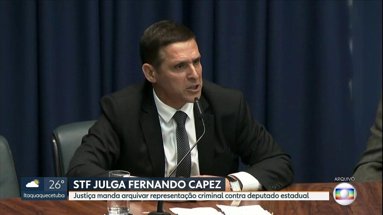 Justiça manda arquivar representação criminal contra Fernando Capez