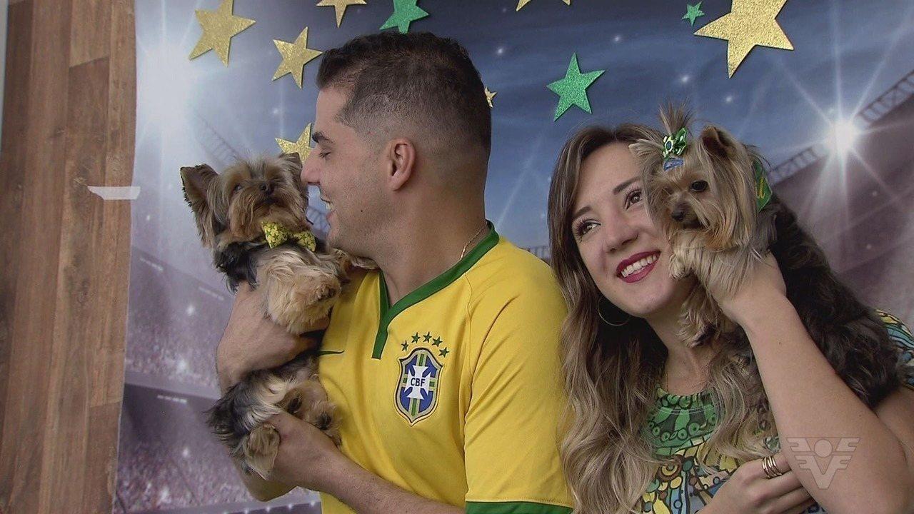 Matéria especial exibida no Jornal da Tribuna 2ª edição sobre a Nina e o Armandinho.