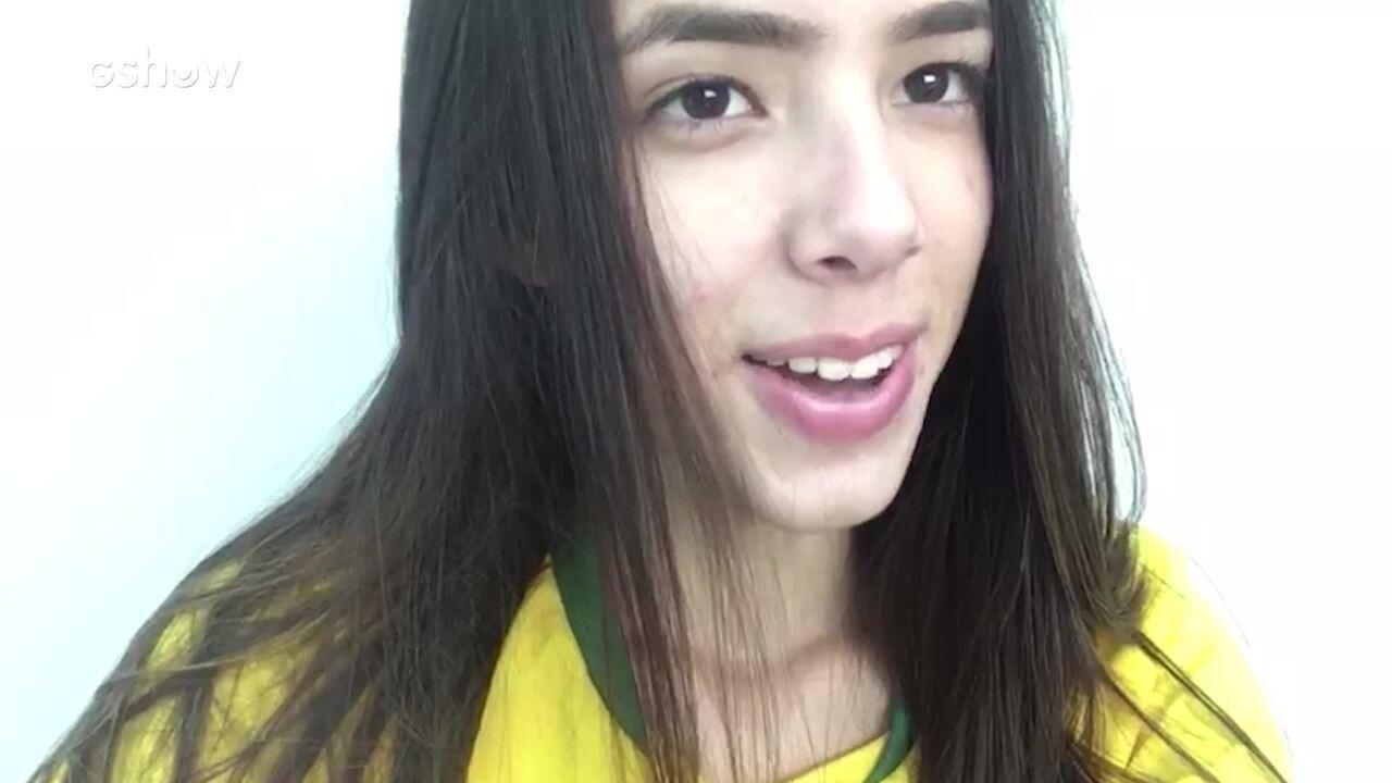 Gabrieli se declarou ao amado em vídeo surpresa