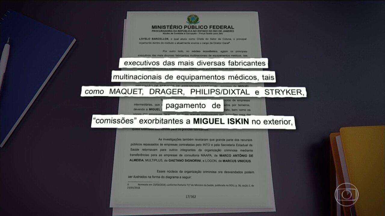 Operação mira contratos e fraudes na Secretaria Estadual de Saúde do Rio Janeiro