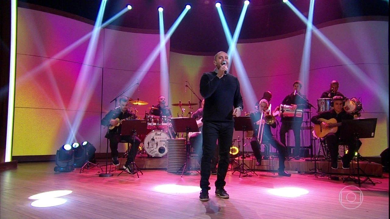 Diogo Nogueira canta 'Coragem'