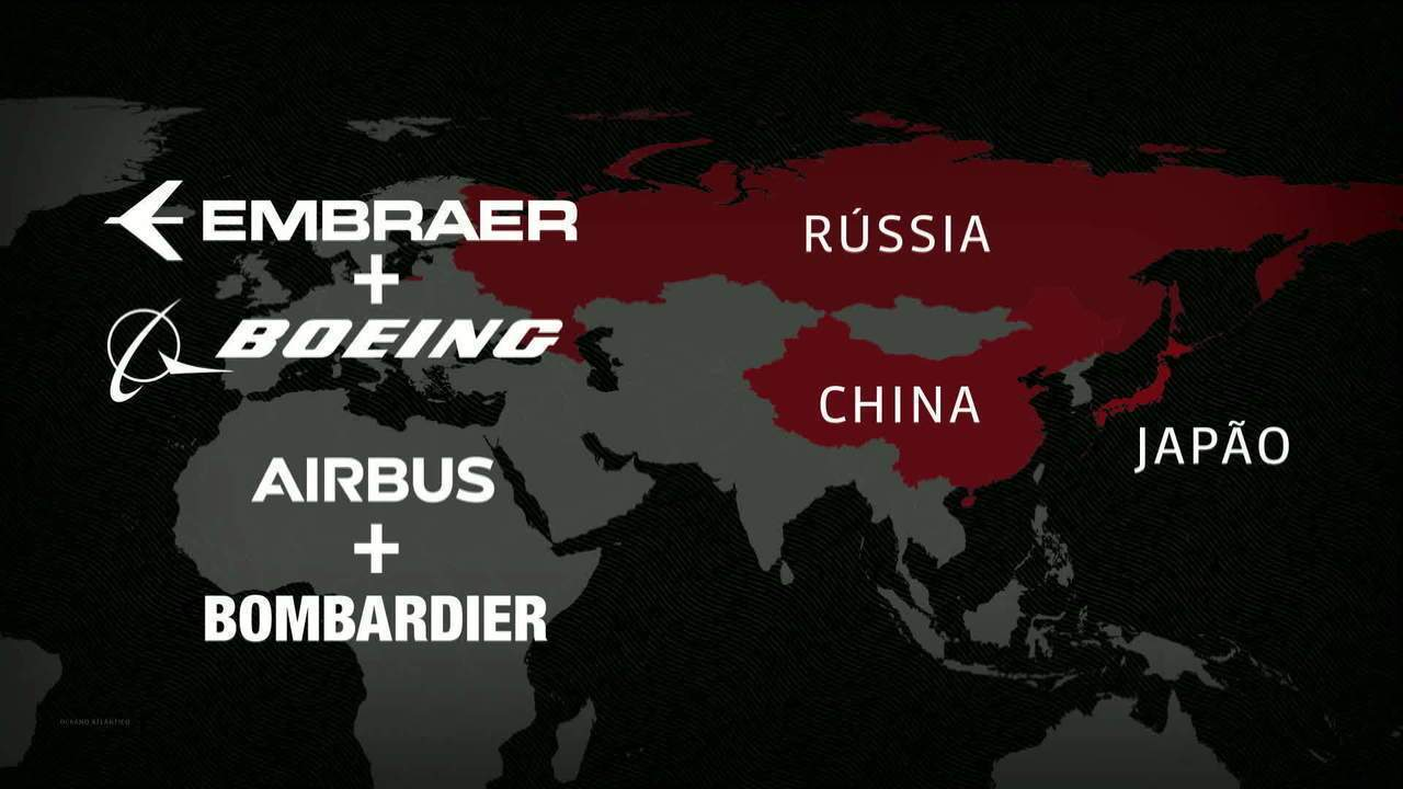 Acordo com Embraer fortalece Boeing no mercado de aviões menores
