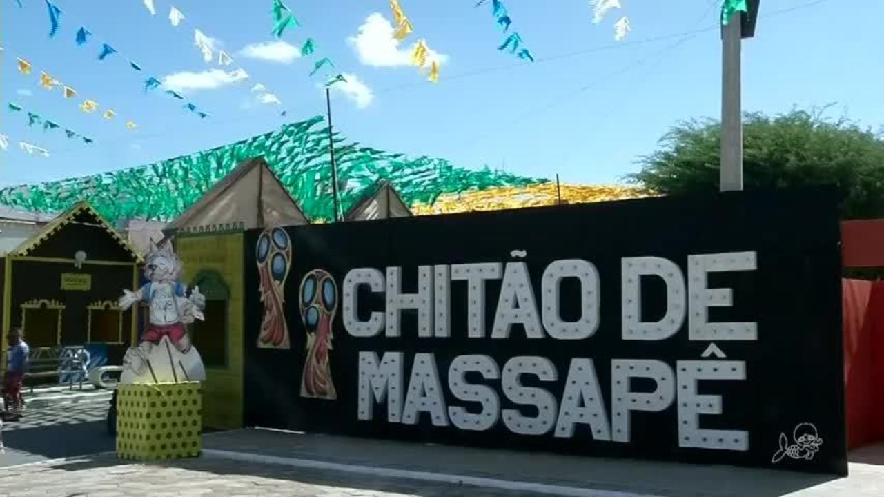 Cidade de Massapê, no CE, tem cidade cenográfica em homenagem a Rússia
