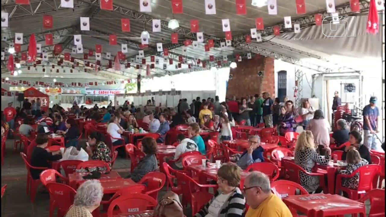 A festa teve início na sexta e segue durante toda a semana; assista à reportagem do Paraná TV