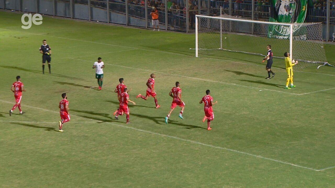 Veja os gols e todos os pênaltis de Manaus 2 x 1 Imperatriz-MA, pela Série D
