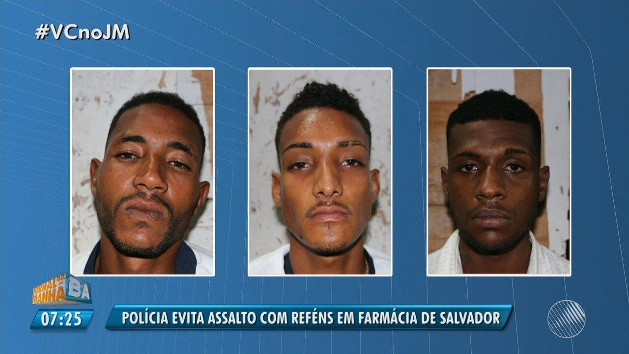 Bandidos fazem 10 reféns em tentativa de assalto no bairro de Sussuarana