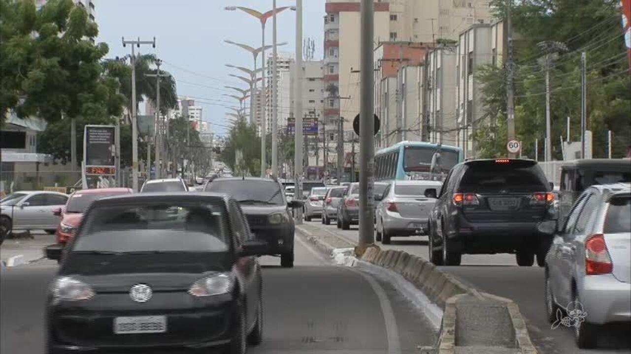 Trecho da Avenida Santos Dumont terá sentido único