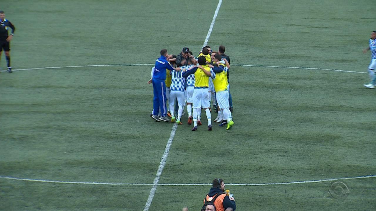 São José se classifica para Série C: Caxias perde e fica na Série D