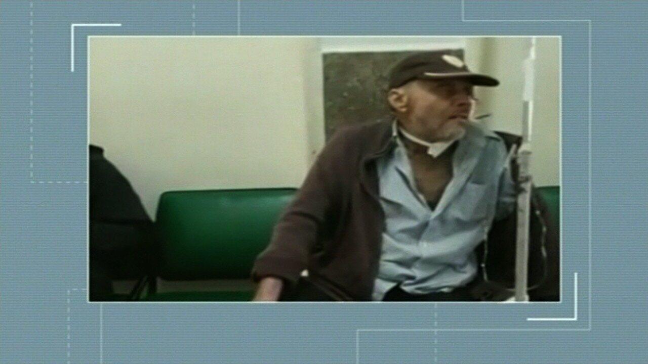 Idoso está há quatro dias em corredor da Santa Casa de Anápolis esperando por vaga