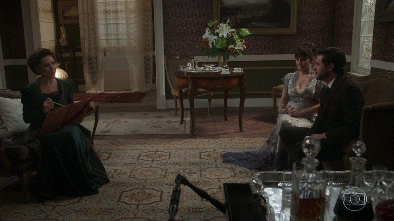 Reveja a cena em Lady explica seu plano de vingança contra Elisabeta e Darcy e pede a lista dos amigos dos dois, que sofrerão em suas mãos!
