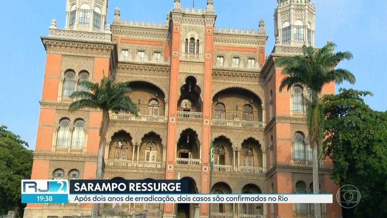 Sarampo ressurge depois de dois anos da erradicação