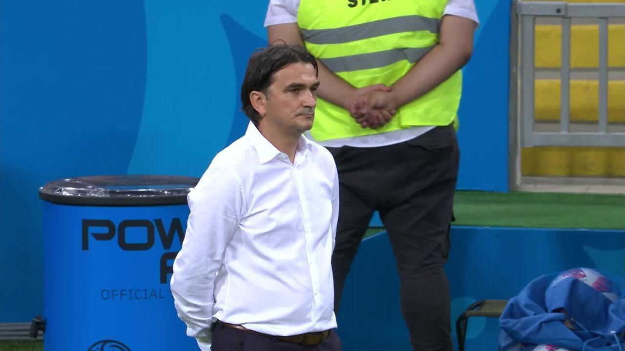Técnico da Croácia se desespera com empate da Rússia nas quartas da Copa do Mundo