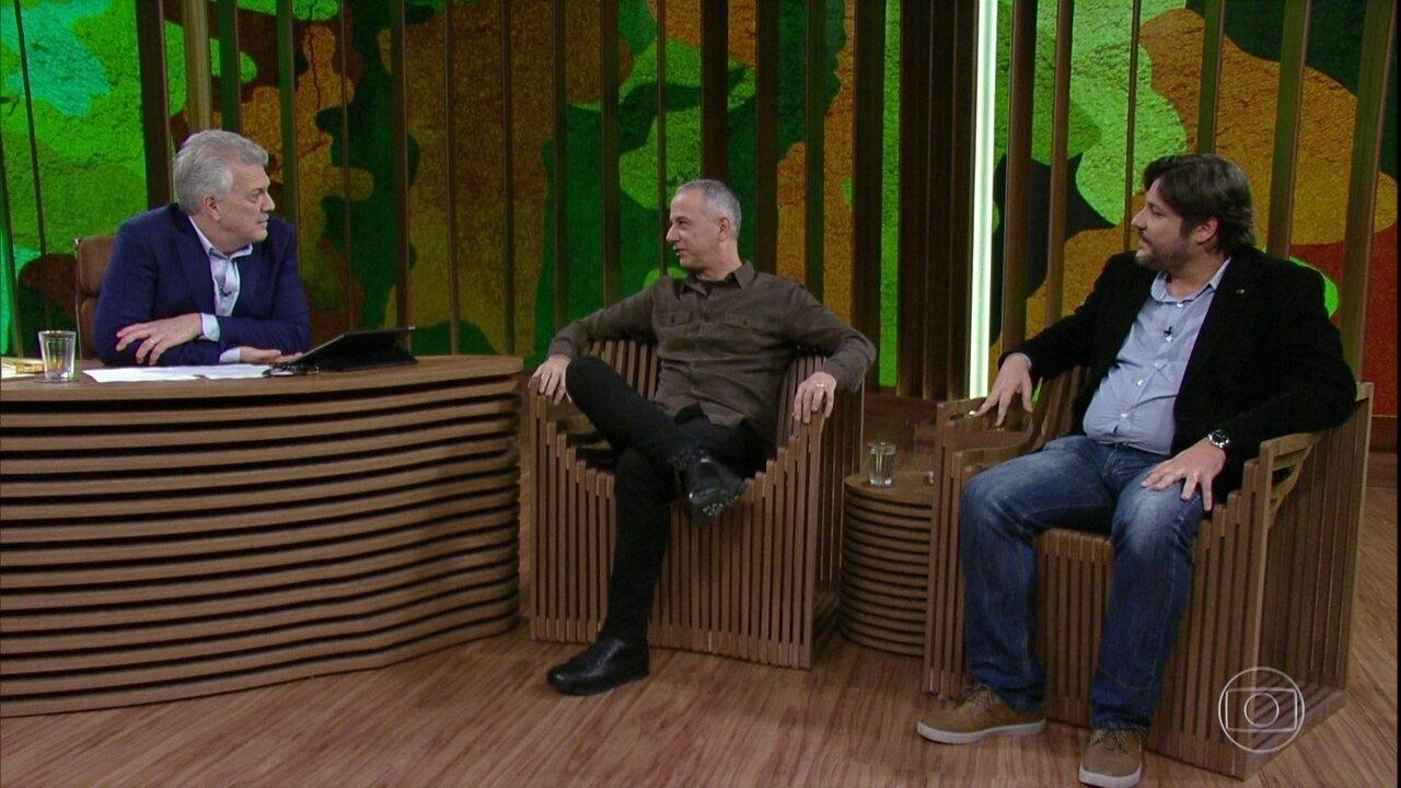 João Barone e Vágner Camilo Alves falam sobre as expressões criadas pelos pracinhas
