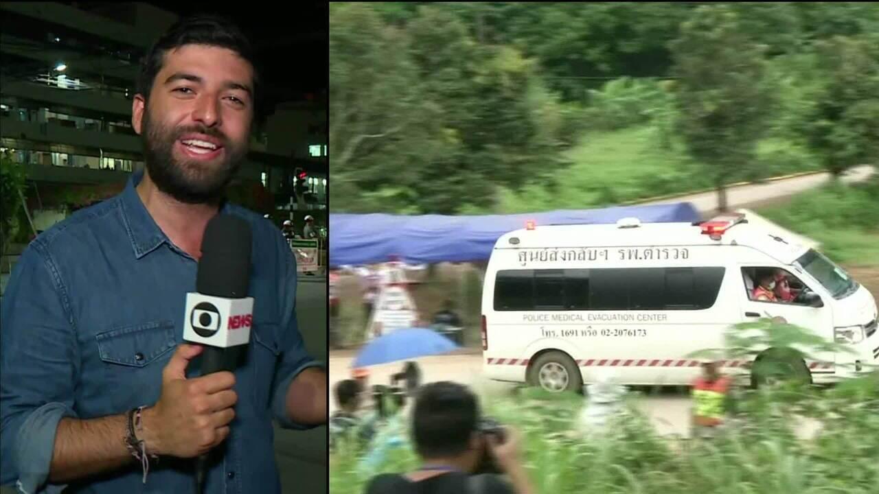 Resgatados todos os 13 presos em caverna na Tailândia