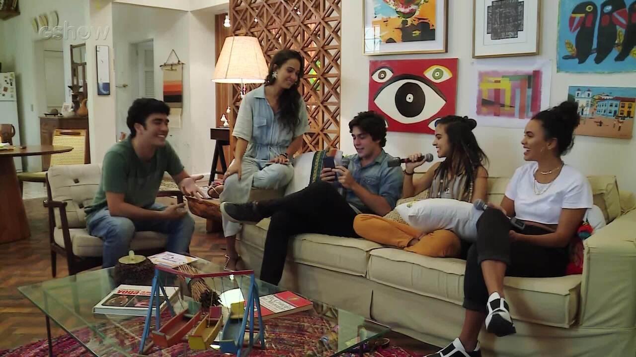 #MalhaçãoAoVivo: Daniel Rangel, Giovana Cordeiro e Pally Siqueira comentam a trama