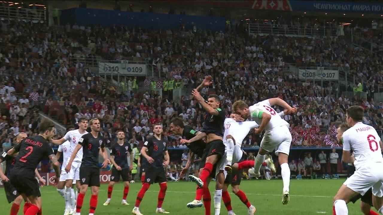 Melhores momentos: Croácia 2 x 1 Inglaterra pela semifinal da Copa do Mundo