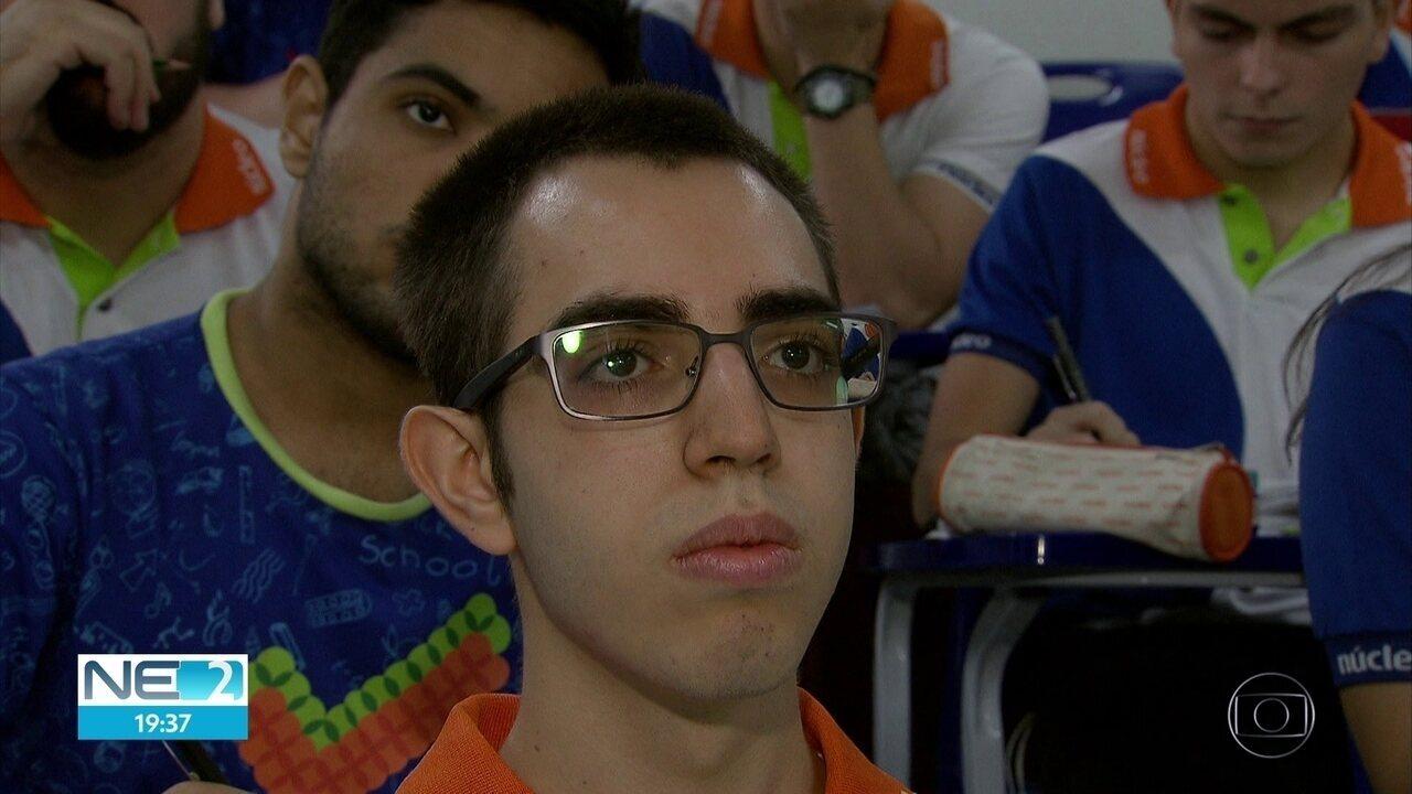 Estudante de Pernambuco representa o país na Olimpíada Internacional de Biologia