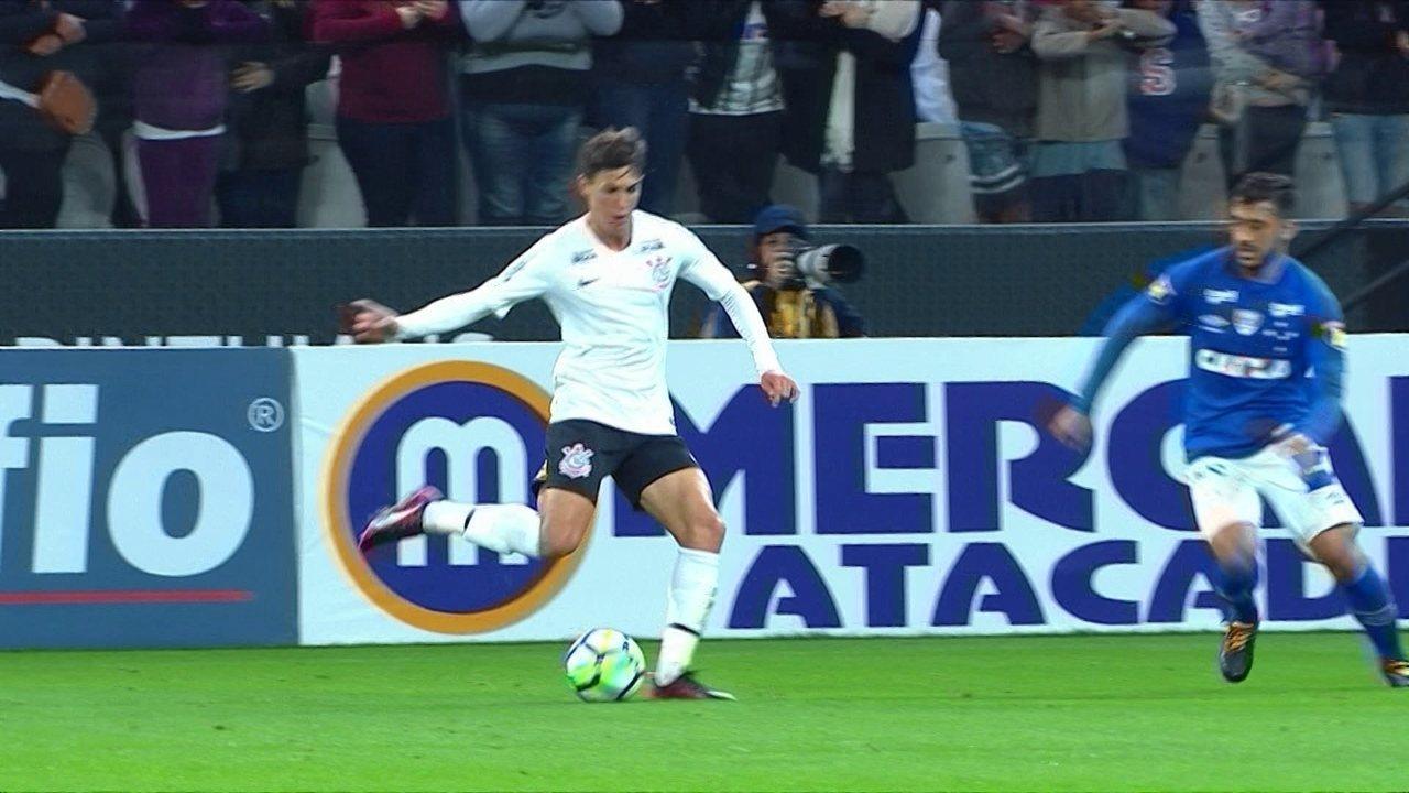 Melhores momentos: Corinthians 2 x 2 Cruzeiro pelo amistoso de futebol