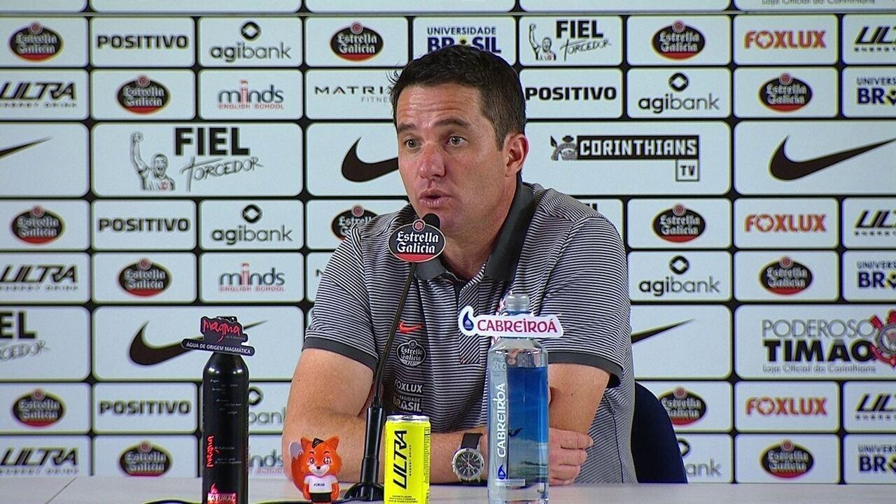 Veja o que falou Osmar Loss, técnico do Corinthians, após o empate com o Cruzeiro