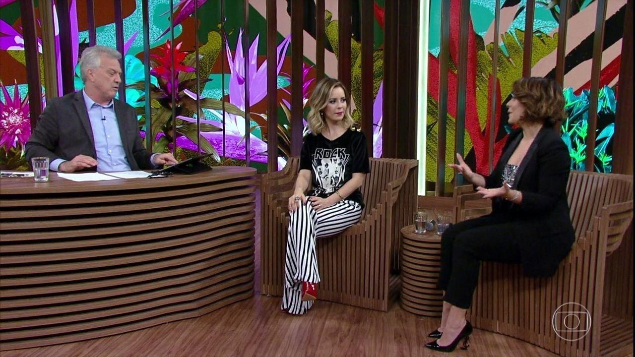 Fernanda Souza fala sobre o programa 'Só Toca Top'