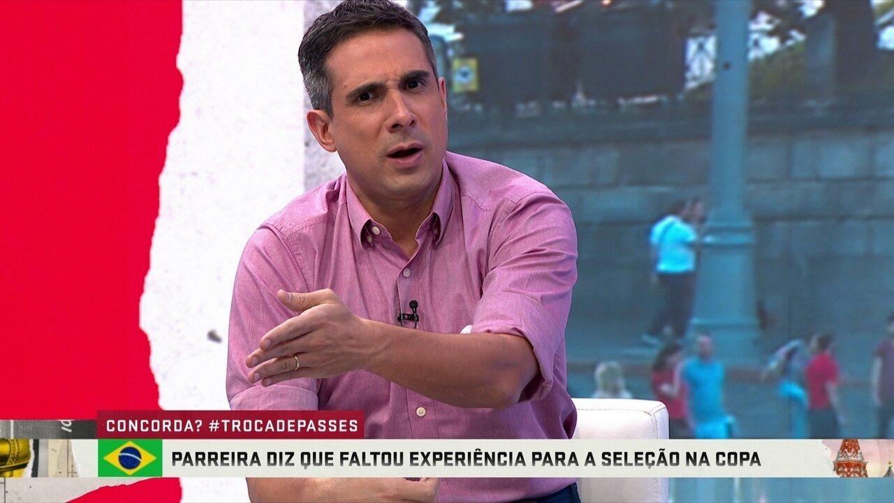 Villani diz que é soberba enxergar erros do Brasil e não mérito da Bélgica