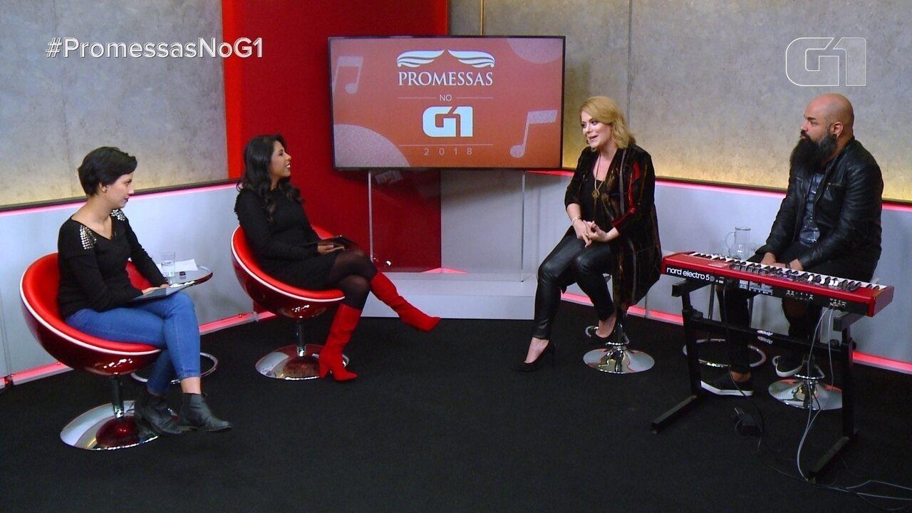 Promessas no G1: veja entrevista com a cantora Mariana Valadão