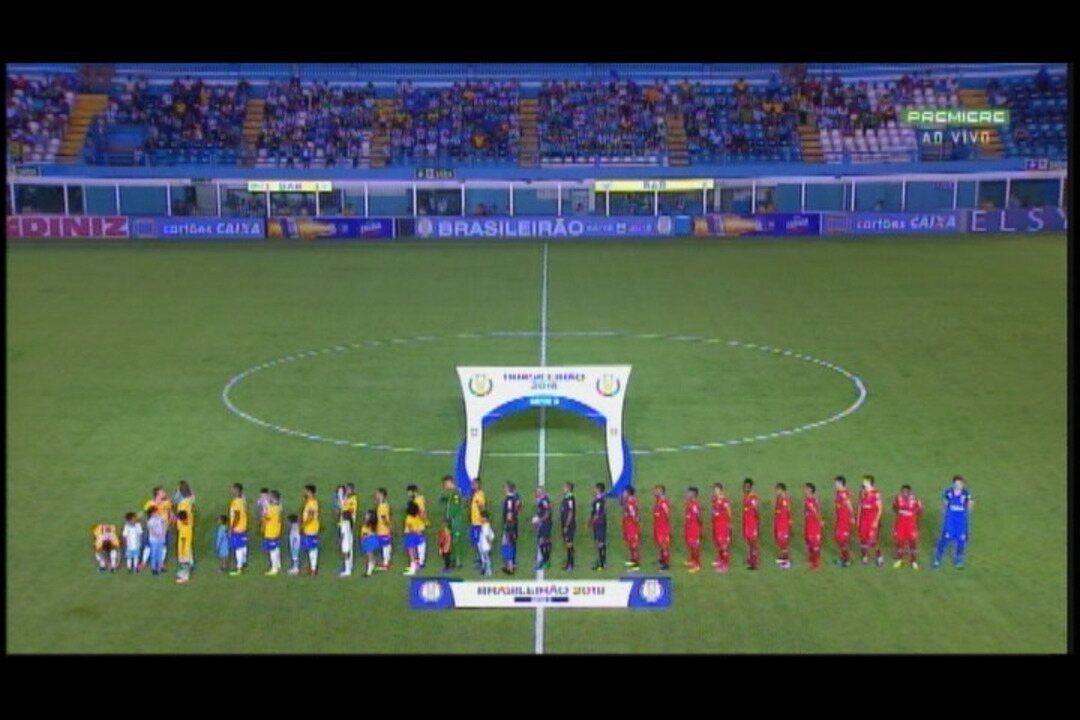 Melhores momentos de Paysandu 1 x 2 Vila Nova, pela Série B