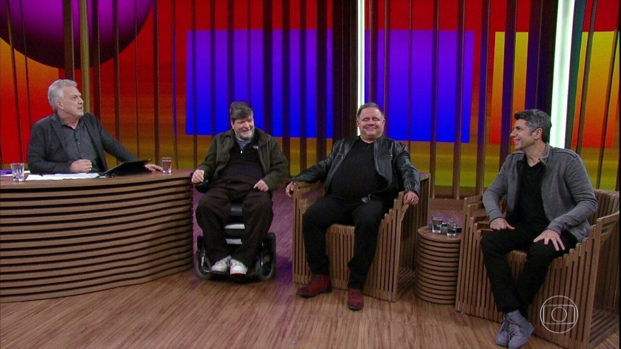 Leoni e Leo Jaime falam sobre novo show