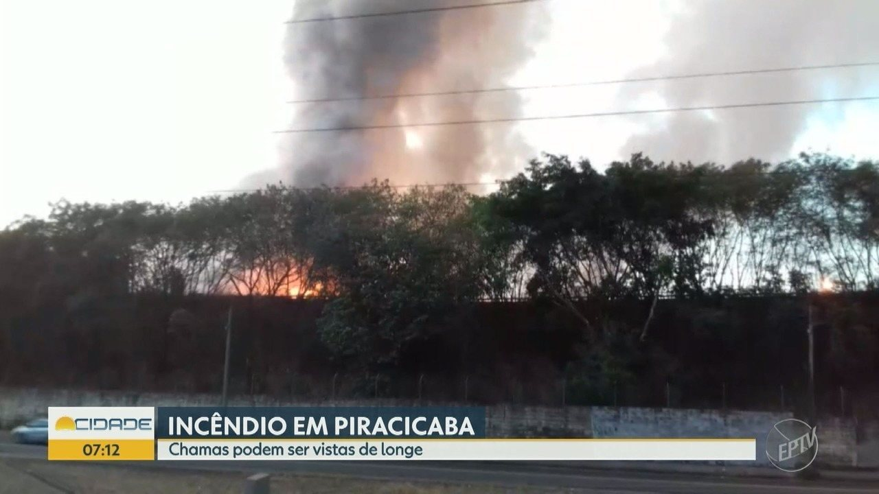 Incêndio atinge metalúrgica em Piracicaba