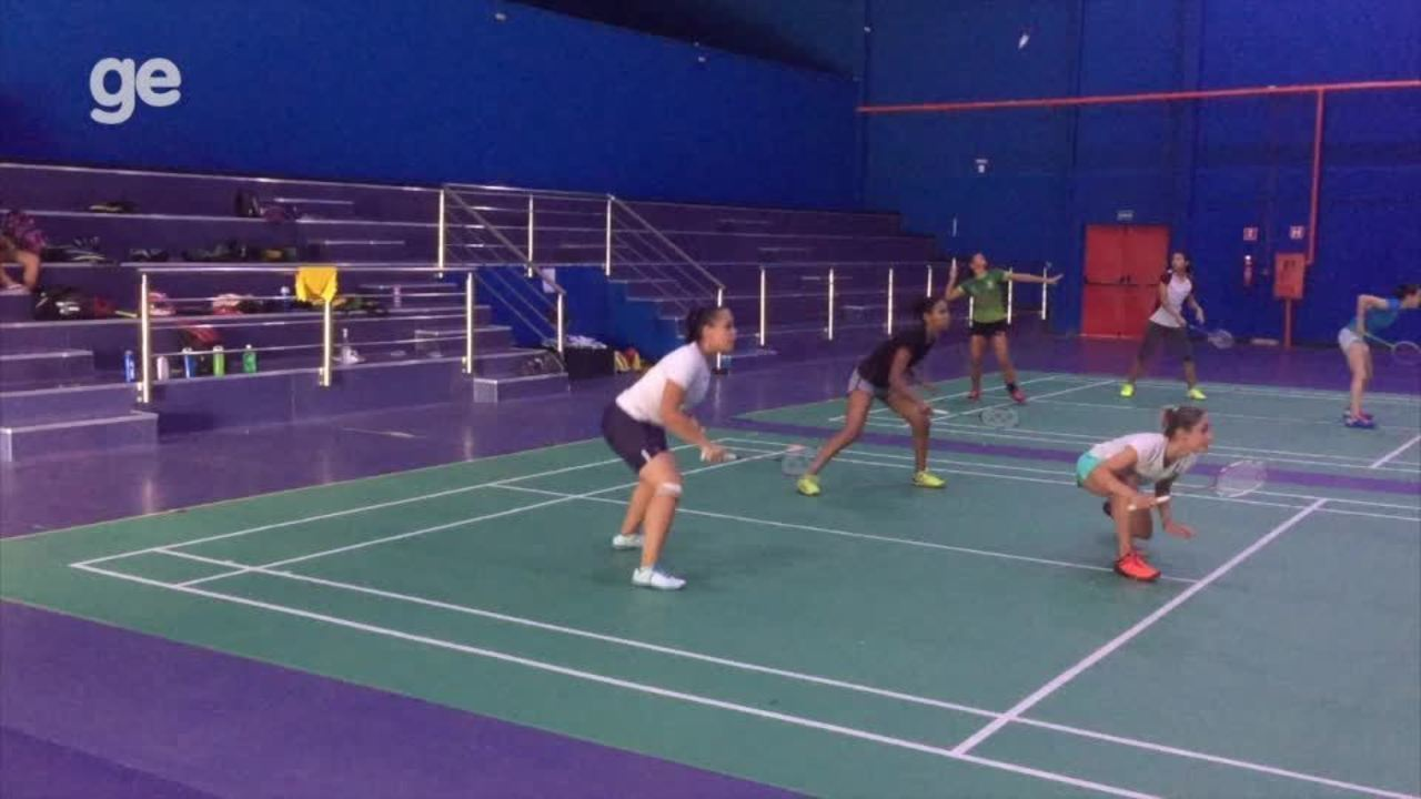 Seleção Brasileira Júnior de badminton treina em CT no Piauí, veja