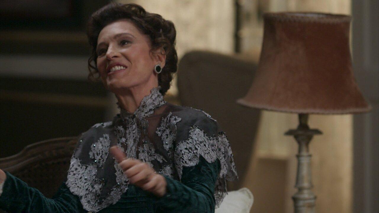 Lady Margareth tem uma ideia para prender Elisabeta