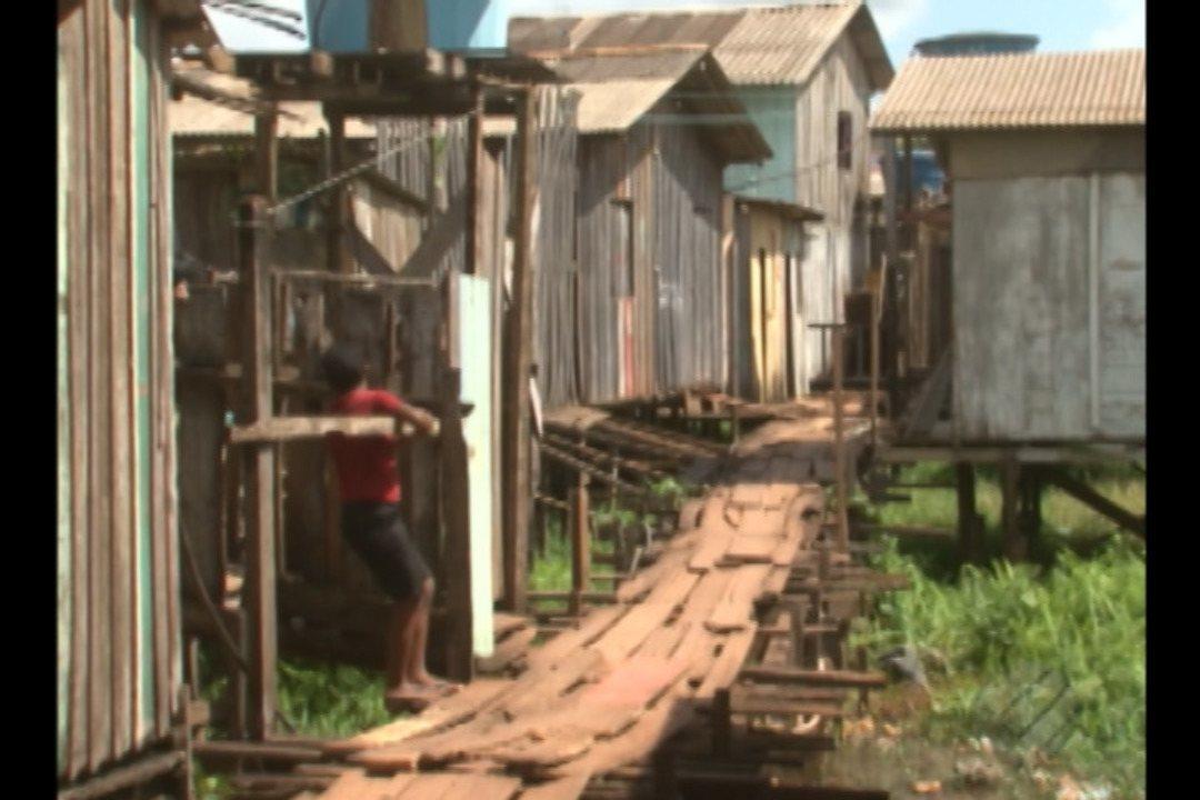 Metade das favelas da região Norte do país ficam no Pará
