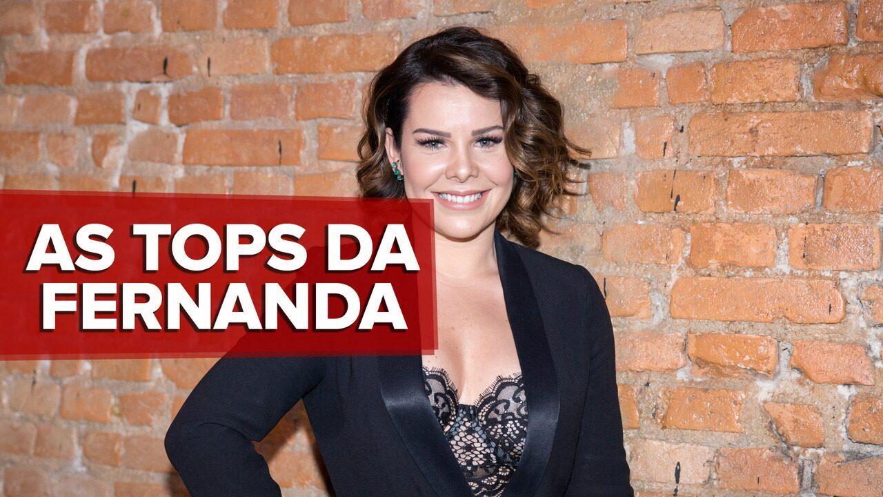 Fernanda Souza revela seu ranking pessoal antes de estrear no 'SóTocaTop'