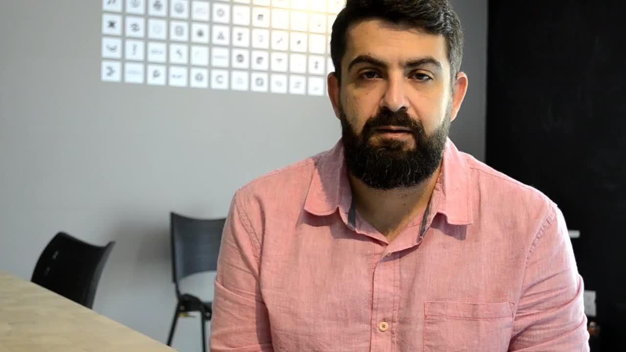 Igor Franzotti comenta a identidade visual do projeto Somos Capixabas