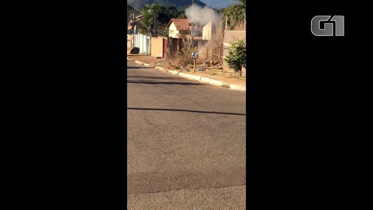 Granada foi detonada pelo Esquadrão Antibombas em Palmas