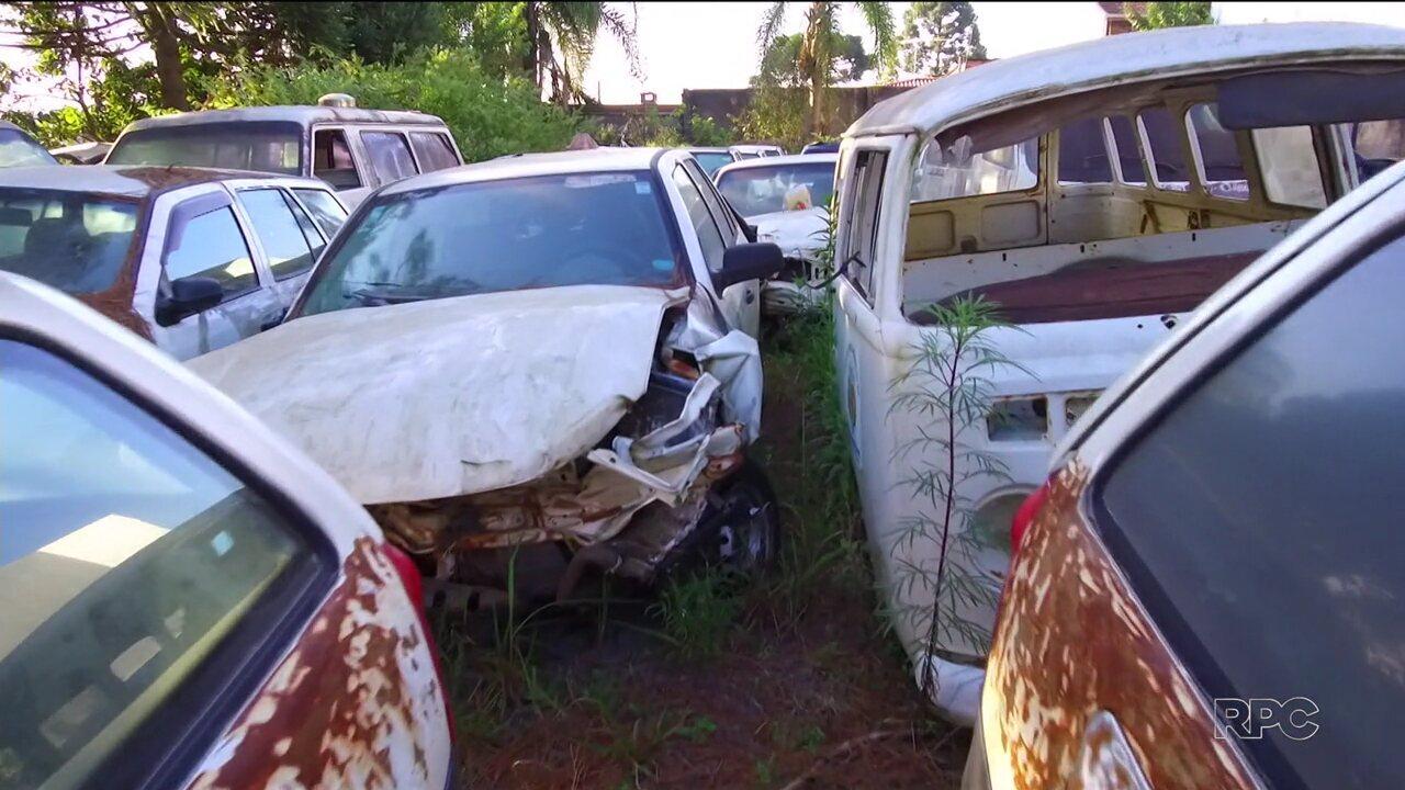 Governo do Estado vai investigar sumiço de peças de carros oficiais fora de serviço