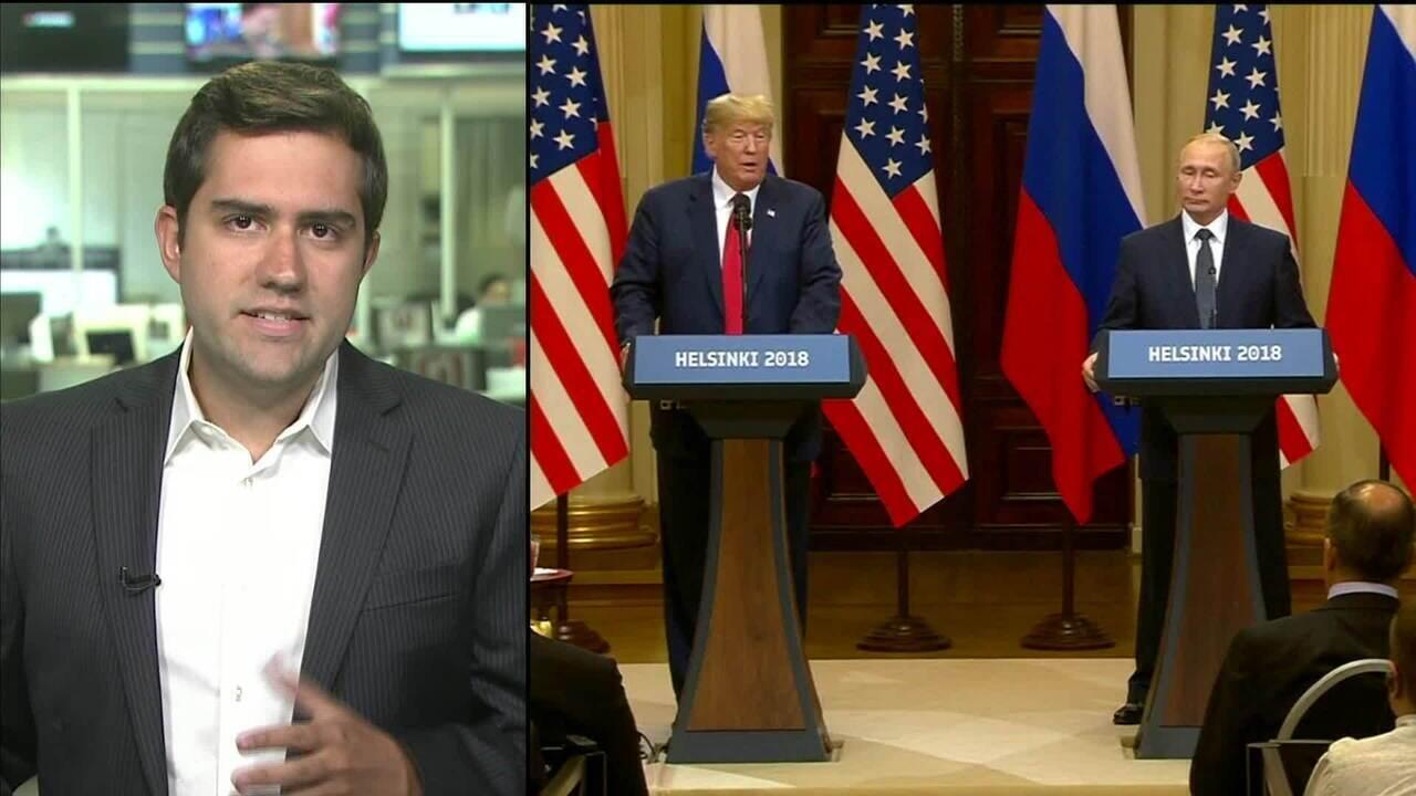 Trump é criticado nos EUA depois de reunião com Putin