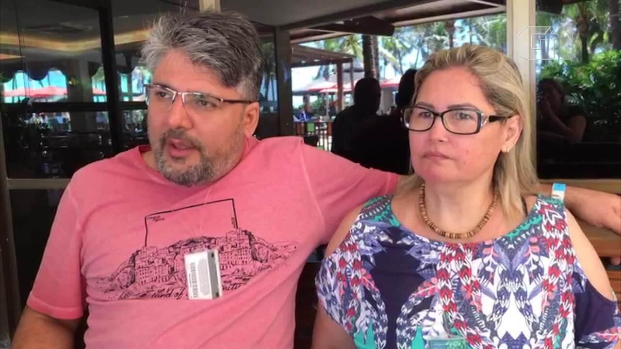 'Eles não estavam preparados', diz turista sobre atendimento no Beach Park após acidente