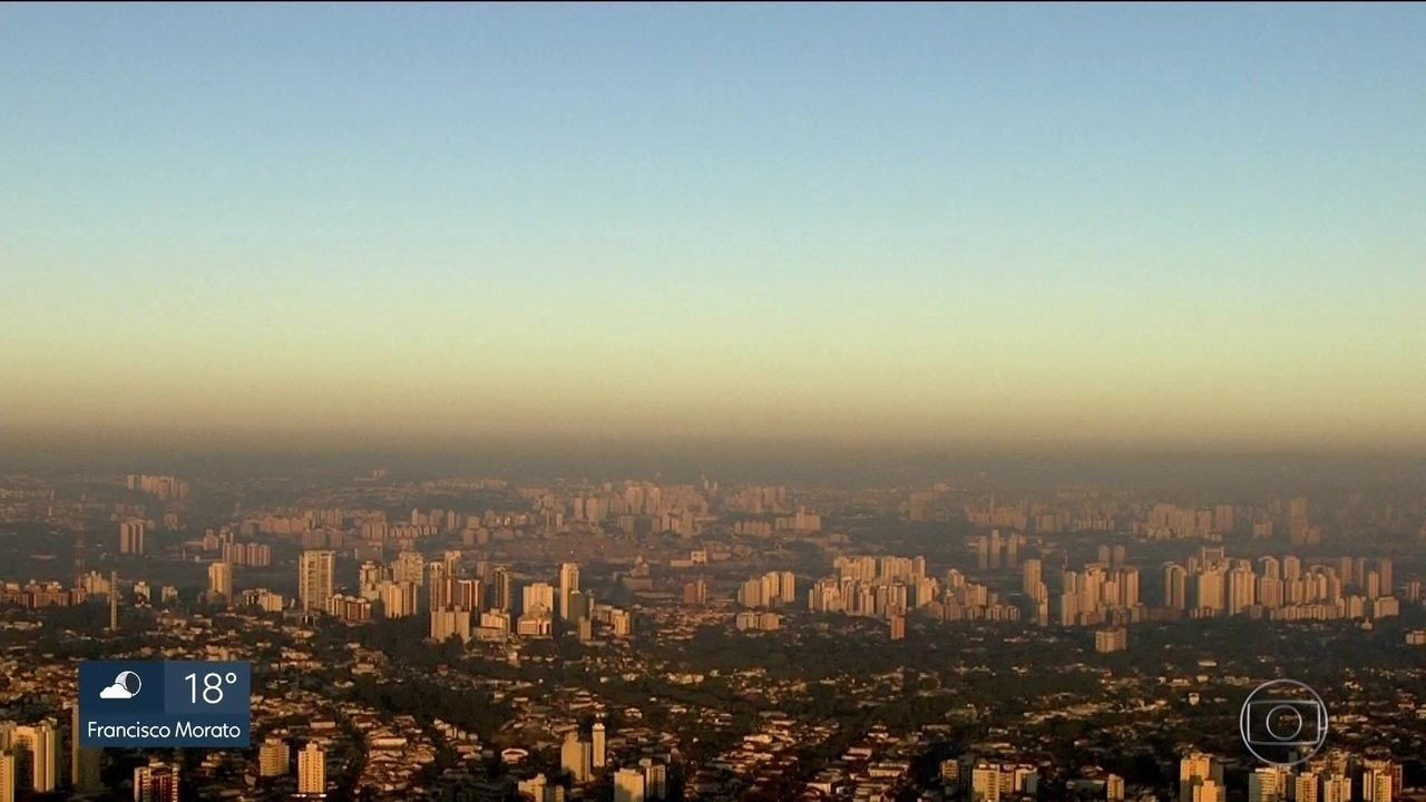 Capital registra a pior qualidade do ar dos últimos nove dias