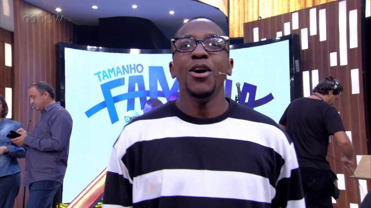 Mumuzinho comenta participação no 'Tamanho Família'
