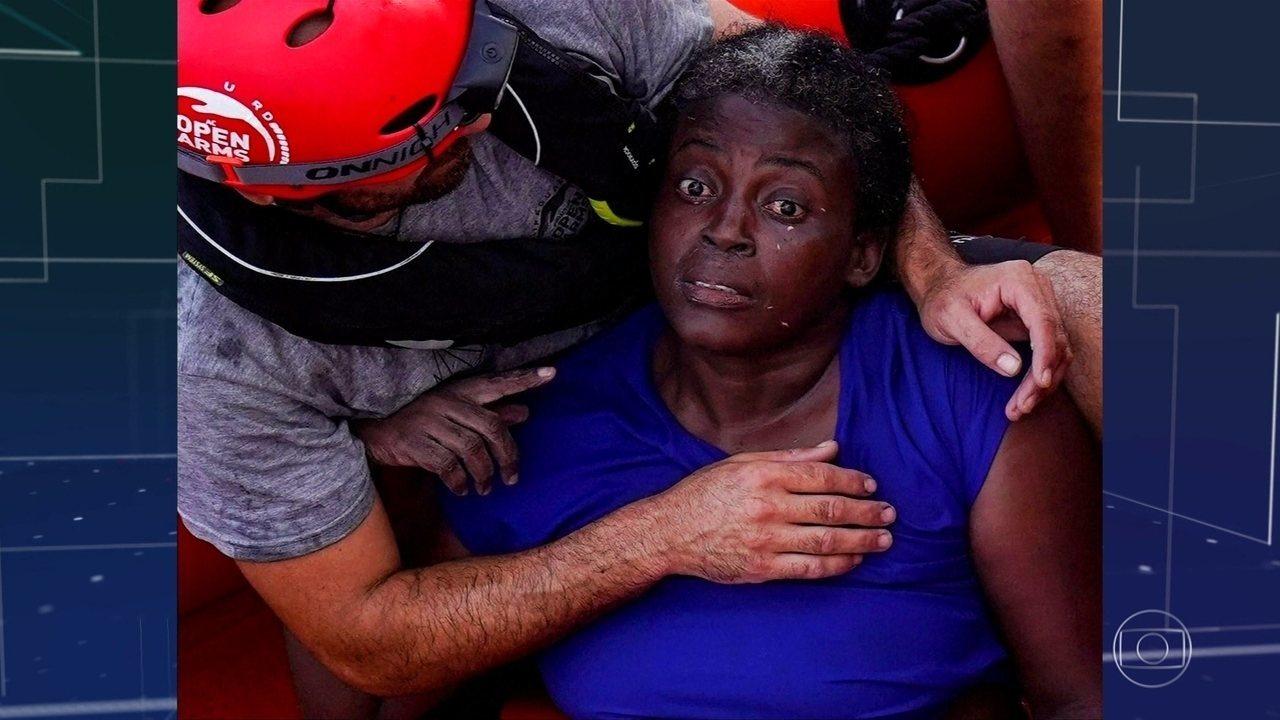Ong espanhola resgata mulher que ficou à deriva durante dois dias no Mediterrâneo