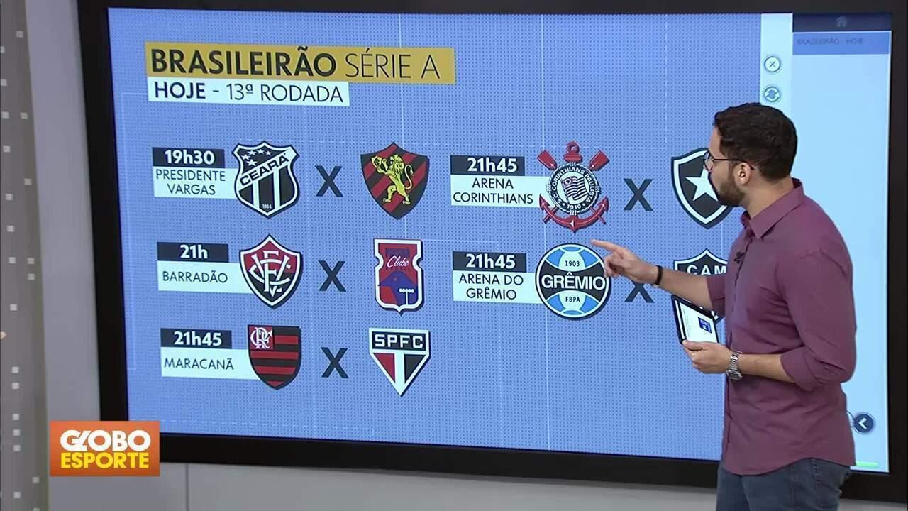Bom Dia Df Brasileirao Volta Hoje Com Cinco Jogos Da Decima Terceira Rodada Assista Online Globoplay