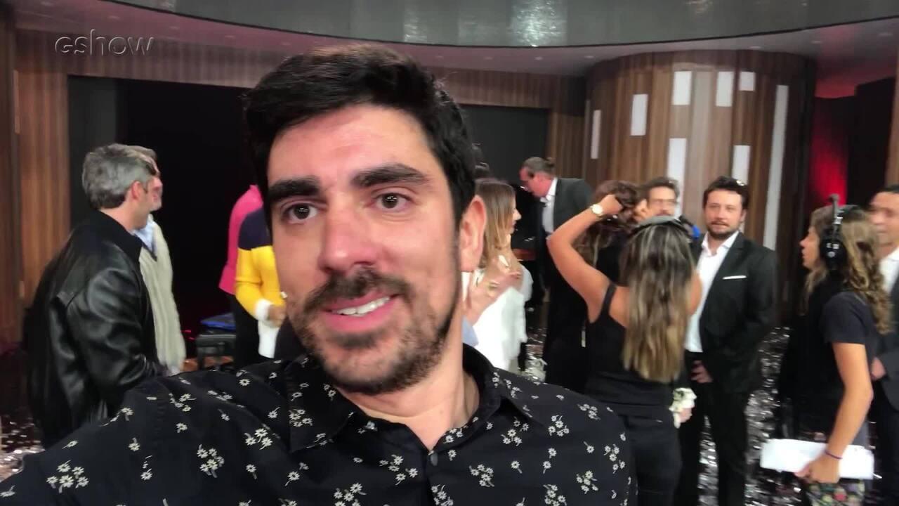 Marcelo Adnet comenta show da família