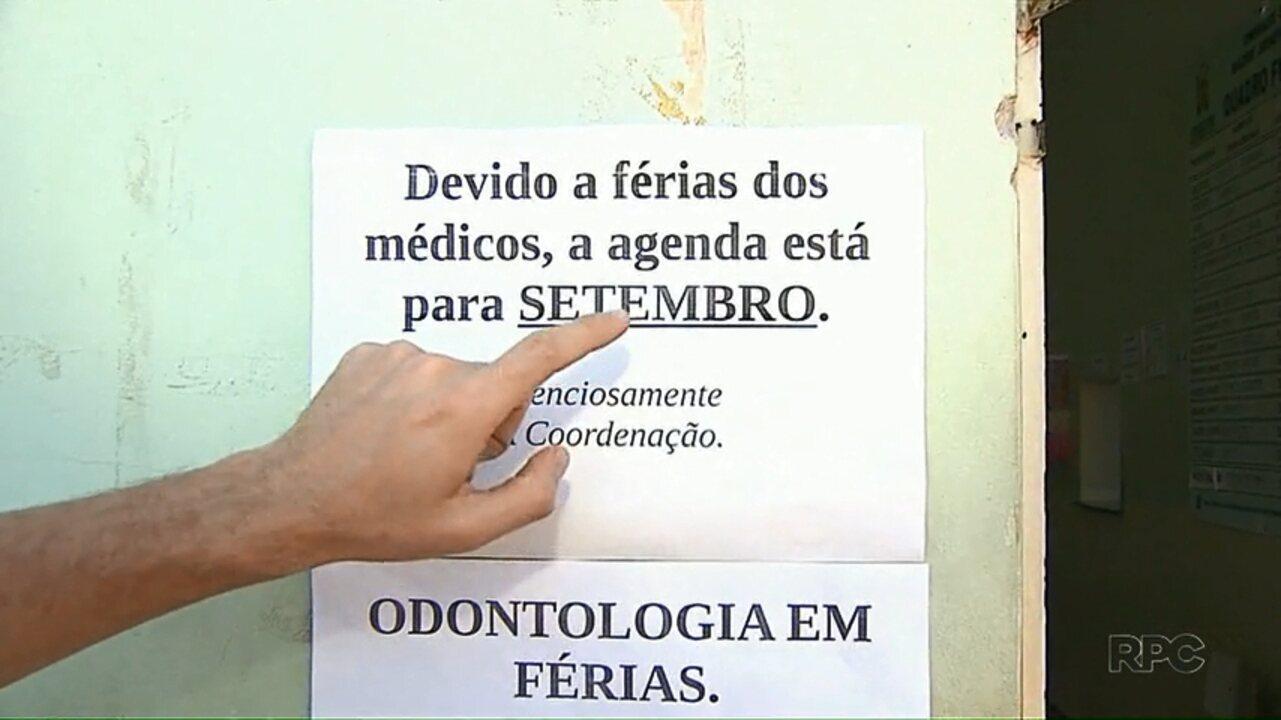 População fica sem atendimento em Ponta Grossa por causa de férias de médicos